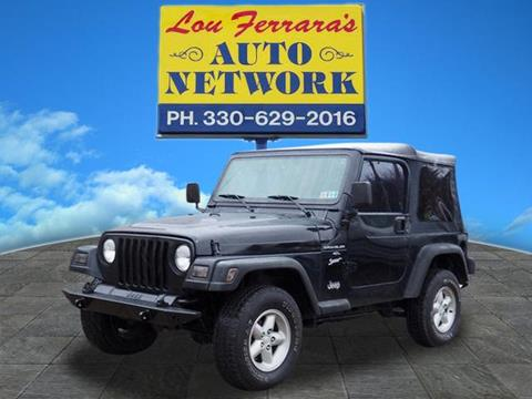 2000 Jeep Wrangler for sale in Youngstown, OH