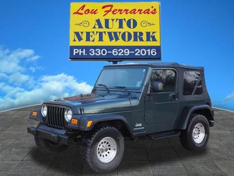 2003 Jeep Wrangler for sale in Youngstown, OH
