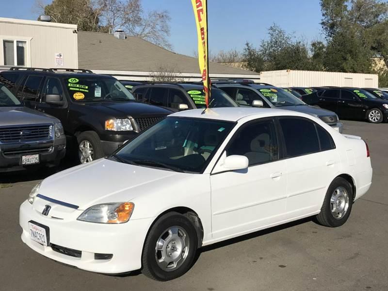2003 Honda Civic Hybrid 4dr Sedan - Rancho Cordova CA