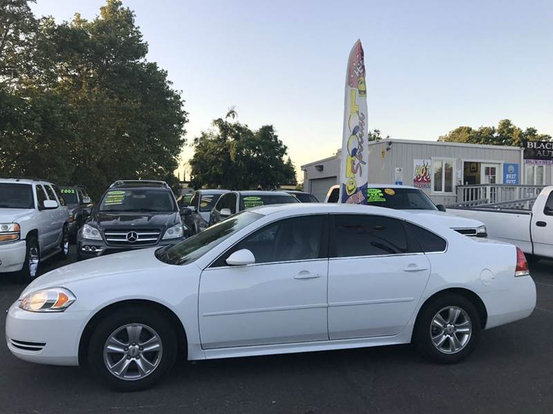 2012 Chevrolet Impala LS Fleet 4dr Sedan - Rancho Cordova CA