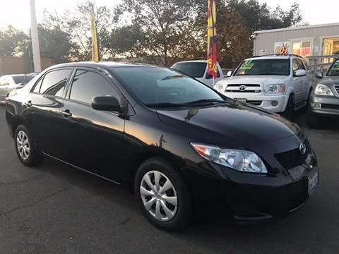 2010 Toyota Corolla for sale in Rancho Cordova, CA