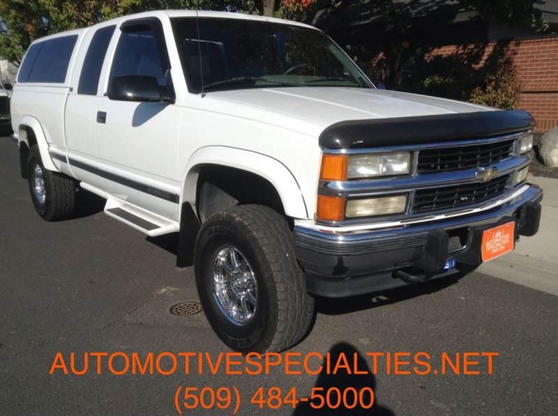 1995 Chevrolet C K 2500 Series For Sale In Spokane Wa