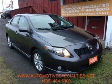 2010 Toyota Corolla for sale in Spokane, WA