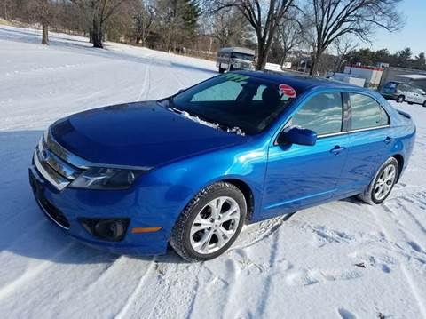 2012 Ford Fusion for sale in Wisconsin Dells, WI