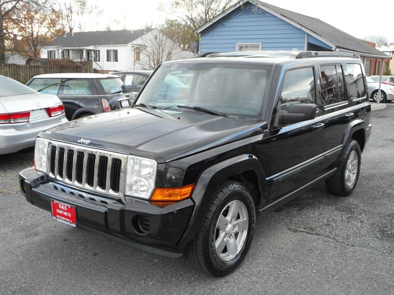 2008 jeep commander 4x4 sport 4dr suv in winchester va d s imports llc. Black Bedroom Furniture Sets. Home Design Ideas
