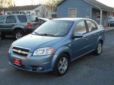 chevrolet aveo for sale virginia. Black Bedroom Furniture Sets. Home Design Ideas