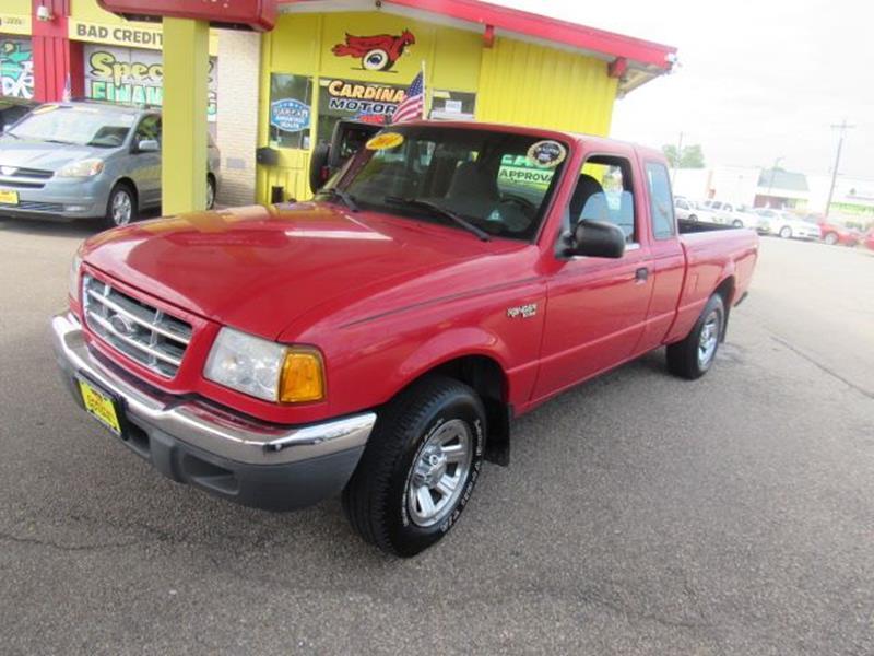 Ford Ranger XLT SuperCab WD In Fairfield OH Cardinal - 2001 ranger