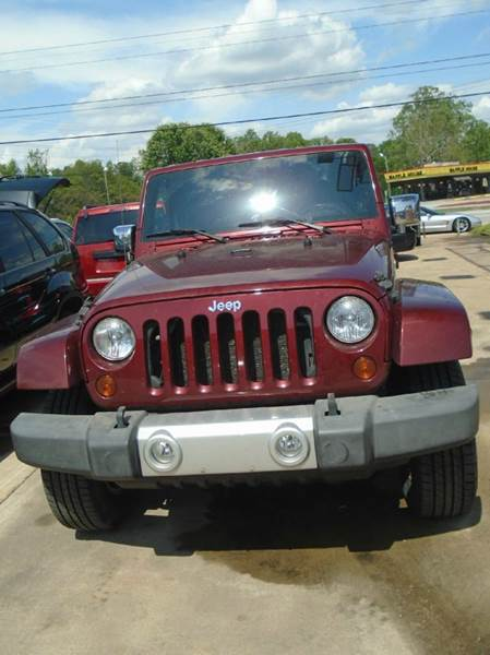 2010 Jeep Wrangler Unlimited 4x4 Sahara 4dr SUV - Greenville SC