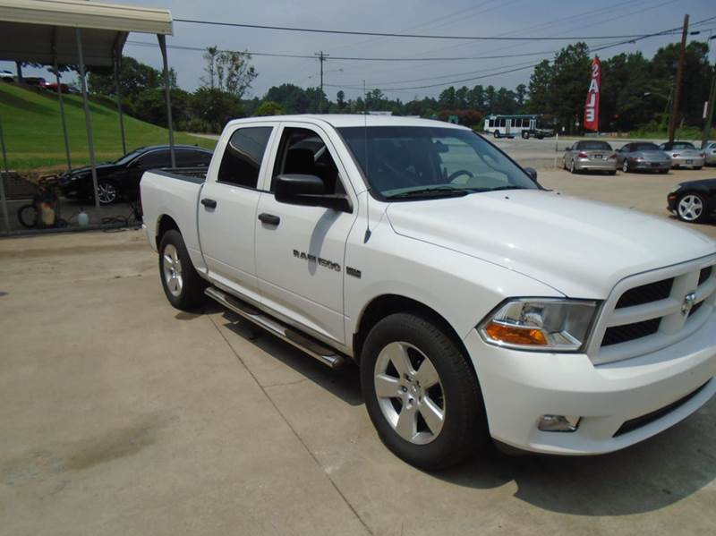 2012 RAM Ram Pickup 1500 4x2 Express 4dr Crew Cab 5.5 ft. SB Pickup - Greenville SC