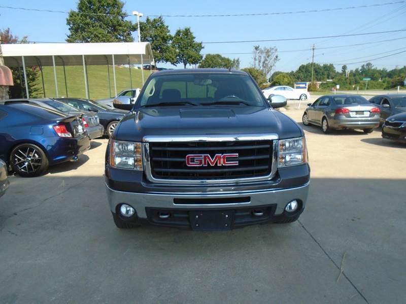 2011 GMC Sierra 1500 4x4 SLE 4dr Extended Cab 6.5 ft. SB - Greenville SC