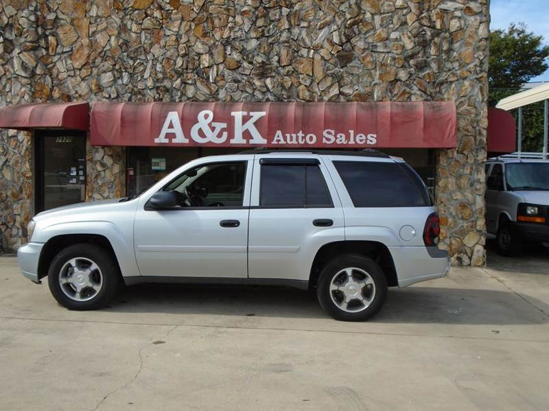 2007 chevrolet trailblazer lt 4dr suv in greenville sc a k auto. Cars Review. Best American Auto & Cars Review
