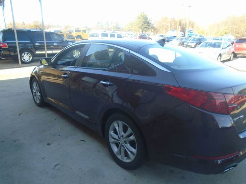2013 Kia Optima LX 4dr Sedan - Greenville SC