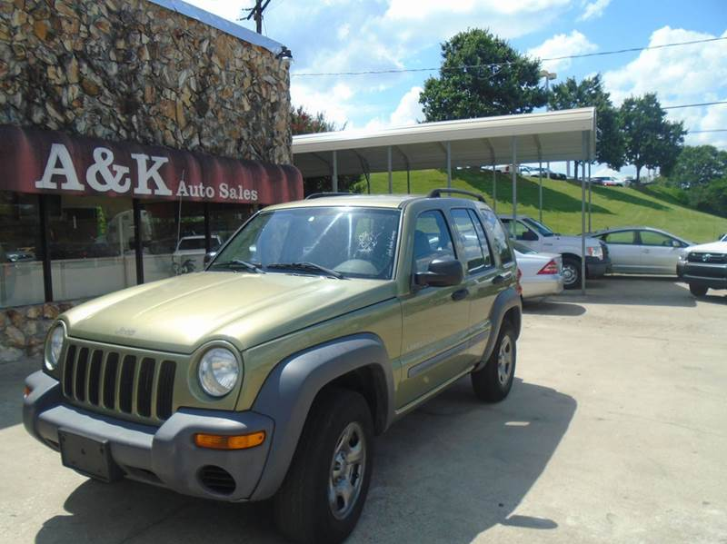 2003 Jeep Liberty 4dr Sport 4WD SUV - Greenville SC