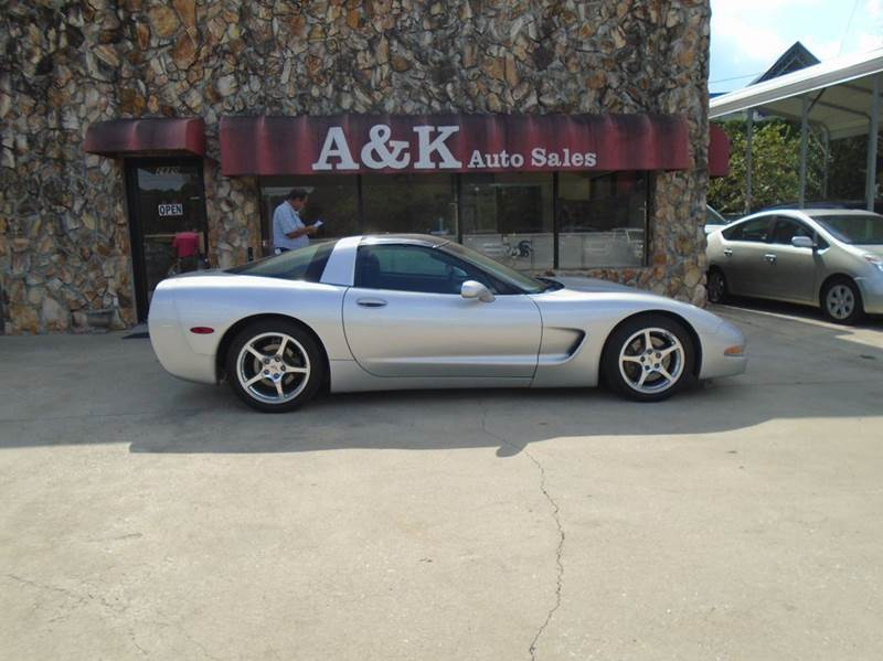 2001 Chevrolet Corvette 2dr Coupe - Greenville SC