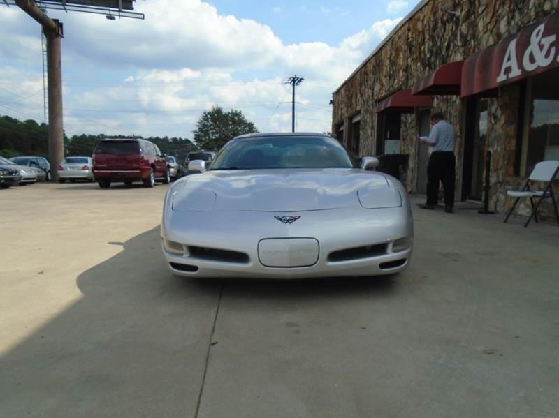 2001 Chevrolet Corvette Base 2dr Coupe - Greenville SC