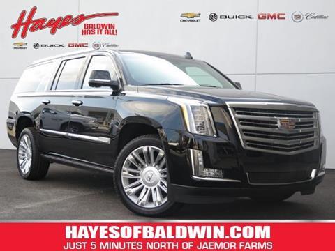 2016 Cadillac Escalade ESV for sale in Alto, GA