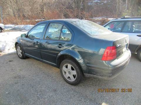 2002 Volkswagen Jetta for sale in Milford NH