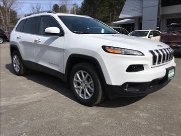 2017 Jeep Cherokee for sale in Warrensburg, NY