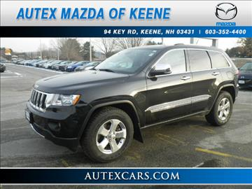 used 2012 jeep grand cherokee for sale in new hampshire. Black Bedroom Furniture Sets. Home Design Ideas