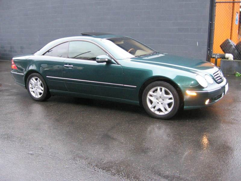 2001 mercedes benz cl class for sale in seattle wa for Mercedes benz for sale seattle