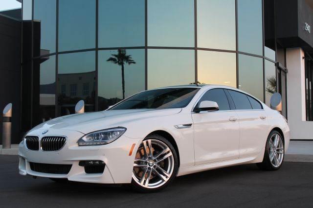 Bmw 6 Series White Gran Coupe