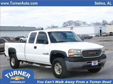 2001 GMC Sierra 2500HD for sale in Clanton, AL