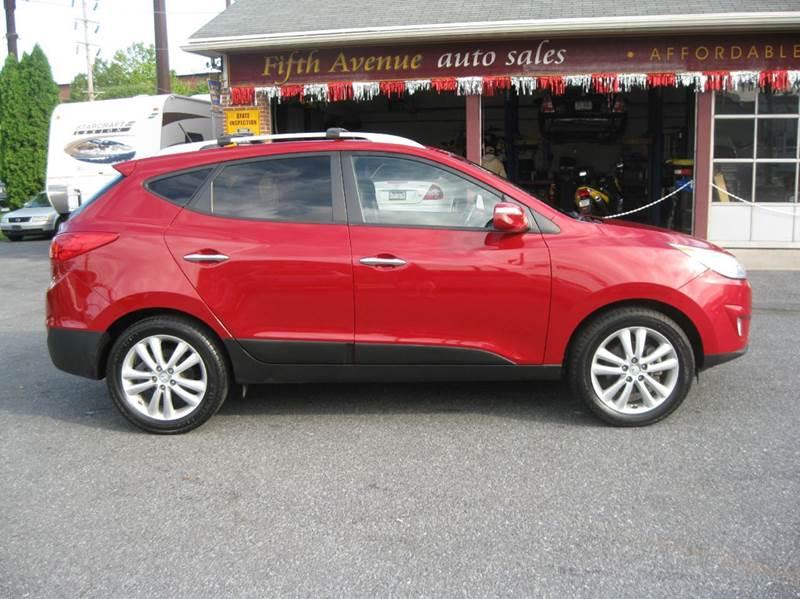 2012 Hyundai Tucson AWD Limited 4dr SUV - Lebanon PA
