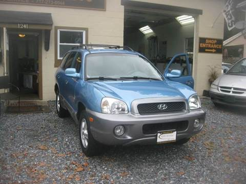 2004 Hyundai Santa Fe for sale in Lebanon, PA