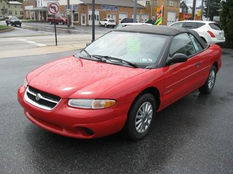 1997 chrysler sebring for sale. Black Bedroom Furniture Sets. Home Design Ideas