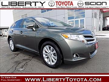 2013 Toyota Venza for sale in Burlington, NJ