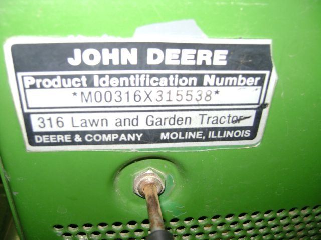 1986 John Deere 316 HYDRO STAT - Texarkana TX