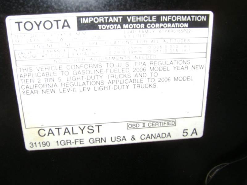 2006 Toyota Tacoma V6 4dr Access Cab 4WD SB (4L V6 6M) - Texarkana TX