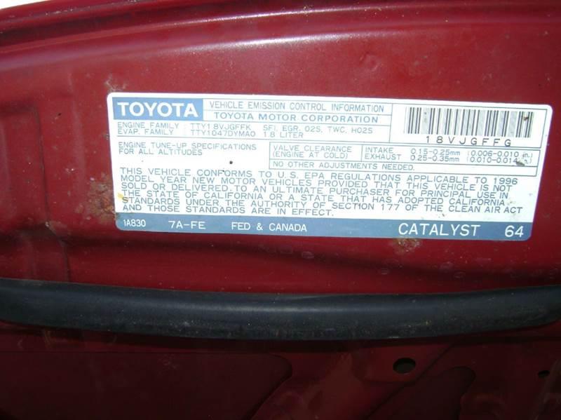 1996 Toyota Celica ST 2dr Hatchback - Texarkana TX