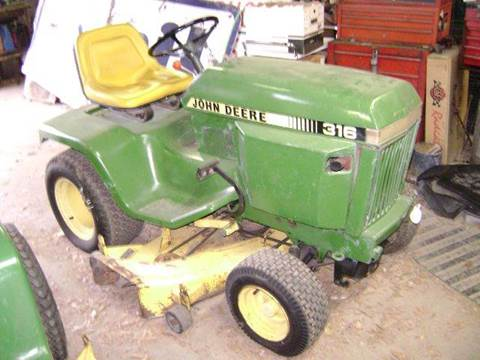 1986 John Deere 316 for sale in Texarkana, TX