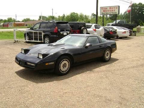 1984 Chevrolet Corvette for sale in Texarkana, TX