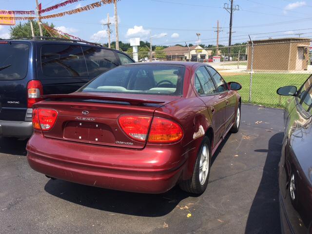 2002 Oldsmobile Alero GL 4dr Sedan w/1SB - Franklin IN