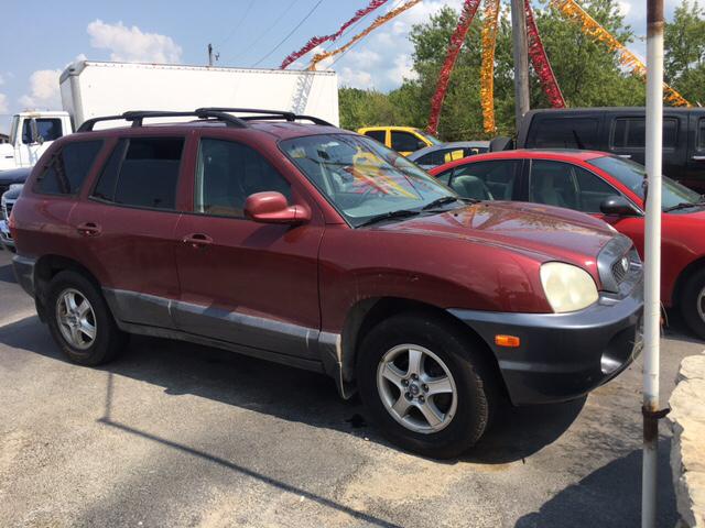 2002 Hyundai Santa Fe Base 2WD 4dr SUV - Franklin IN