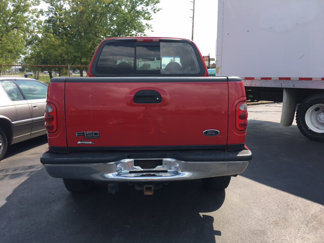 2001 Ford F-150 Lariat 4dr SuperCrew 4WD Styleside SB - Franklin IN