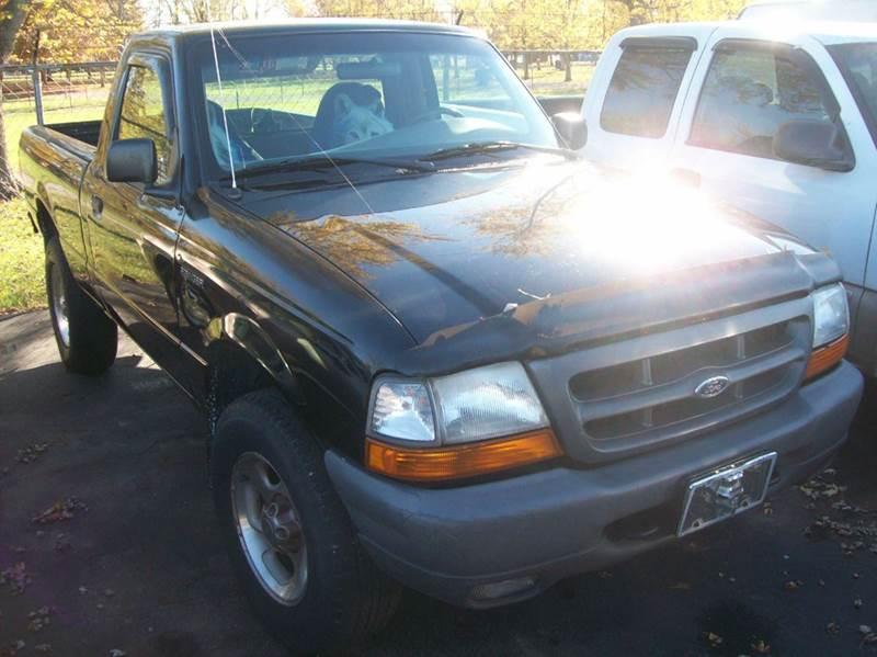 2000 Ford Ranger 2dr XL Standard Cab SB - Franklin IN