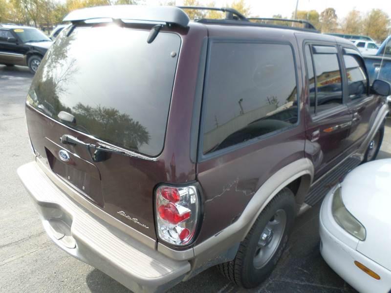1999 Ford Explorer 4dr XLT 4WD SUV - Franklin IN