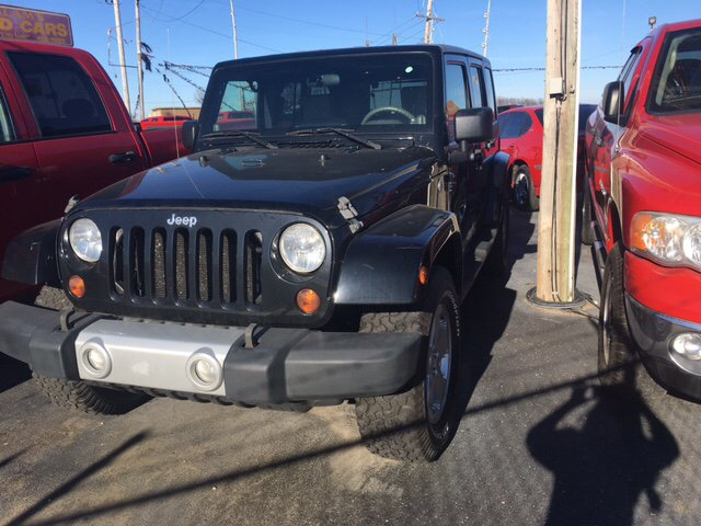 2009 Jeep Wrangler Unlimited 4x4 Sahara 4dr SUV - Franklin IN