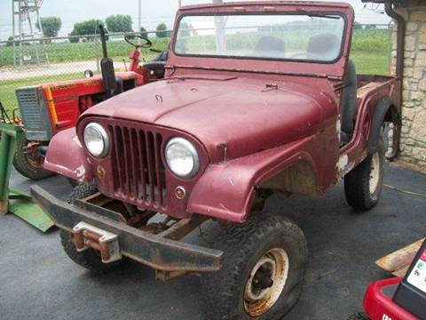 1961 Jeep Willys for sale in Franklin, IN