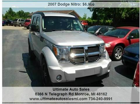 2007 Dodge Nitro for sale in Monroe, MI