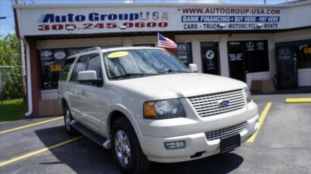 2006 FORD EXPEDITION 4DR LIMITED white 103599 miles VIN 1FMFU195X6LA35358