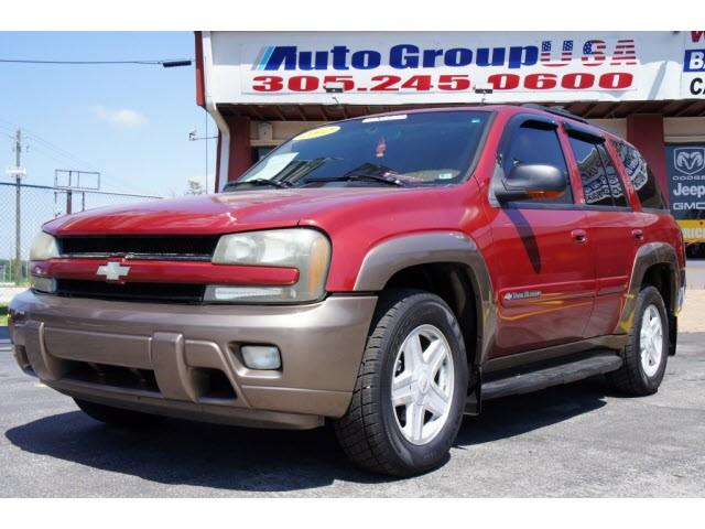 2002 CHEVROLET TRAILBLAZER 4DR 2WD LS red please check dealer website for any disclaimers autogro