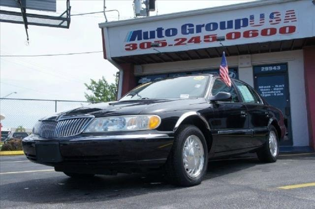 1998 LINCOLN CONTINENTAL 4DR SDN black 1 owner vehicle 91035 miles VIN 1LNFM97VXWY713028