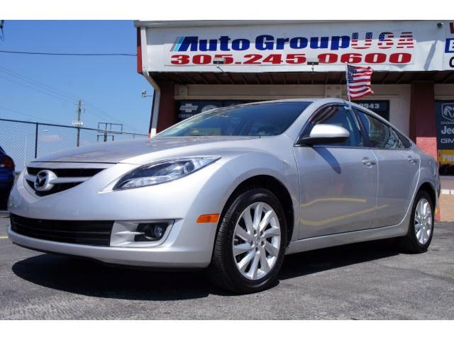 2012 MAZDA MAZDA6 4DR SDN I4 AUTO GS silver please see dealer website for disclaimers autogroup-u