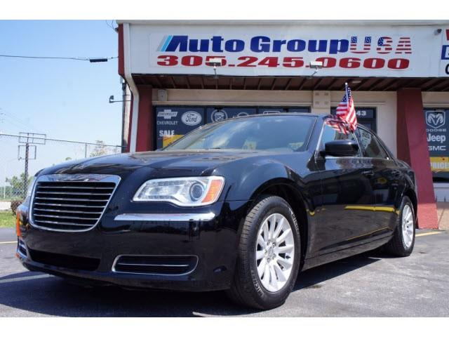 2012 CHRYSLER 300 4DR SDN V6 RWD black please see dealer website for disclaimers autogroup-usaco