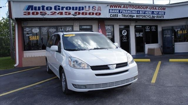2004 TOYOTA SIENNA 5DR XLE FWD white disclaimer prices are based on 3500 down payment on top of