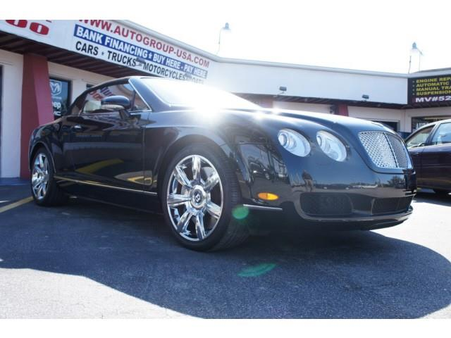 2007 BENTLEY CONTINENTAL GTC 2DR CONV black please check dealer website for any disclaimers autog